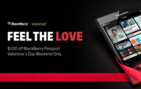 BlackBerry Passport<br>Valentines Day<br>Social Post