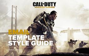 Call of Duty: Advance Warfare<br>CRM Style Guide