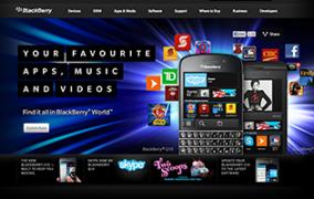 BlackBerry: Canada<br>UI Visuals: Index Hero