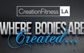 Creation Fitness LA<br>Wordpres Website