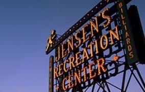 Jensen&#8217;s Recreation Center<br>Wordpres Website